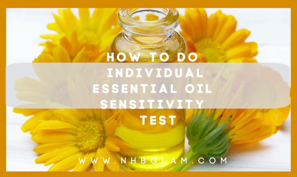 HOW TO DO INDIVIDUAL ESSENTIAL OIL SENSITIVITY TEST