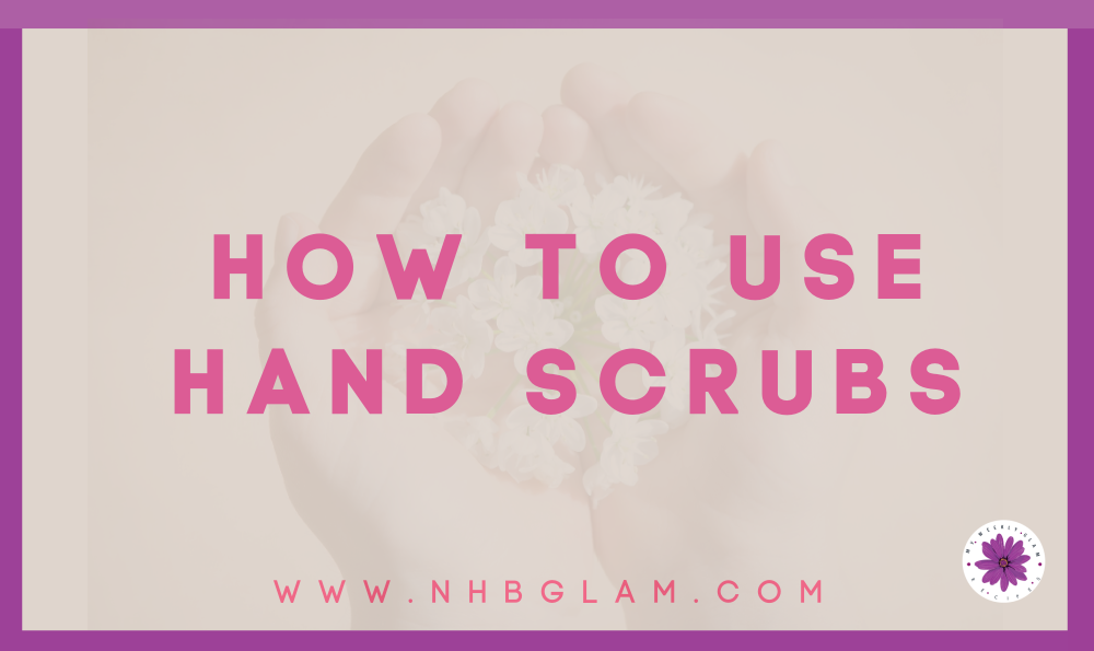 Homemade hand scrub recipes